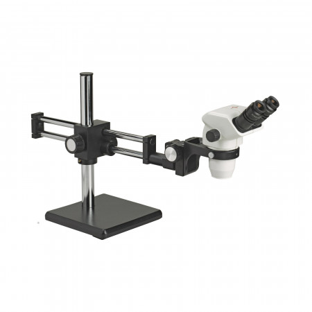 3075 Binocular Zoom Stereo Microscope on Ball Bearing Boom Stand