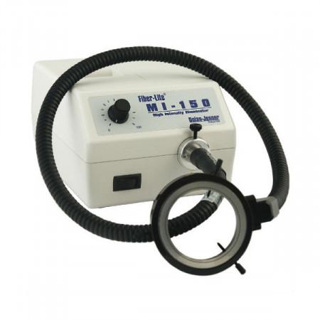 Dolan-Jenner MI-150RL 150W Fiber Optic Illuminator with 60mm I.D. Annular Ring Light
