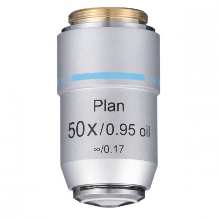 50xR Oil Infinity Plan Achromat Objective