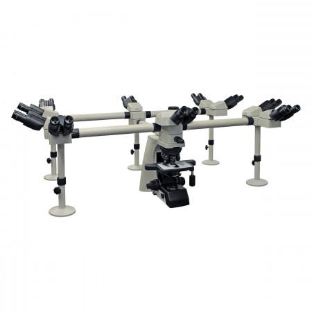 500-10SBS Ten Observer Accessory shown on EXC-500 with optional Viewing Head and Eyepieces