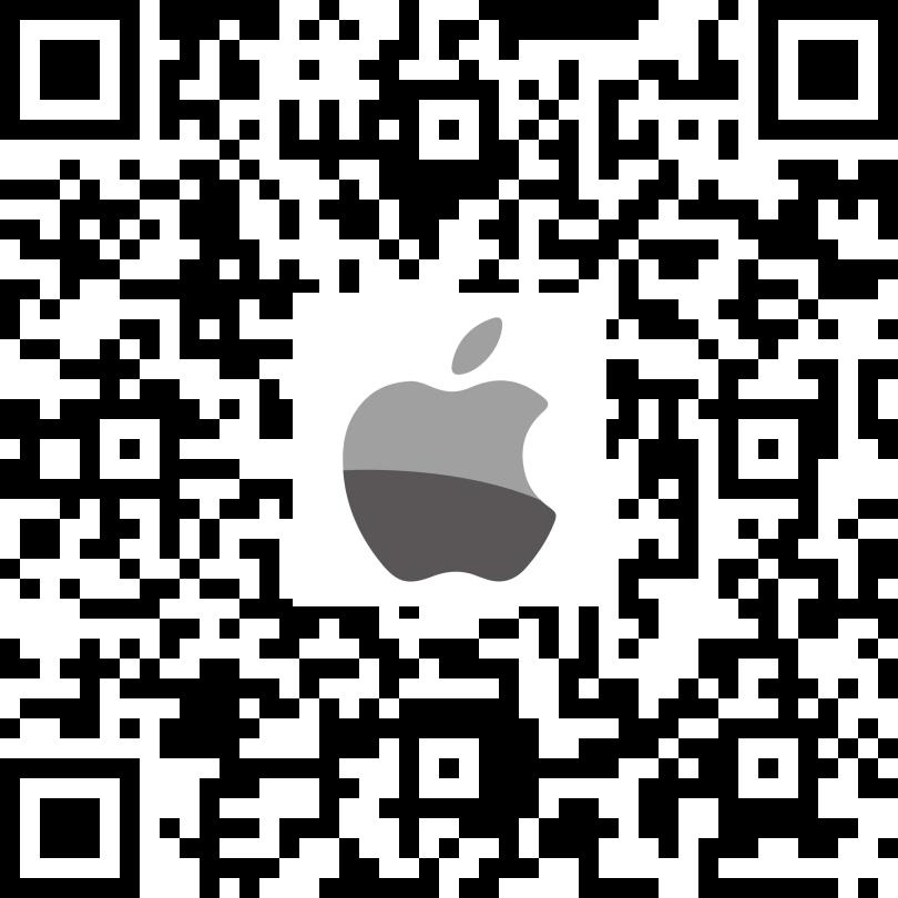 QR code for SKYE View app on Apple App Store