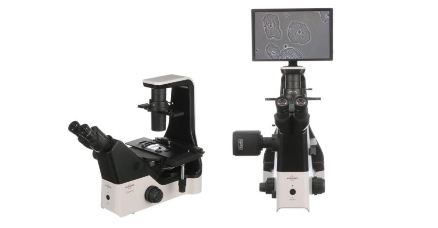 ACCU-SCOPE Inc. Introduces the EXI-410 Inverted Microscope